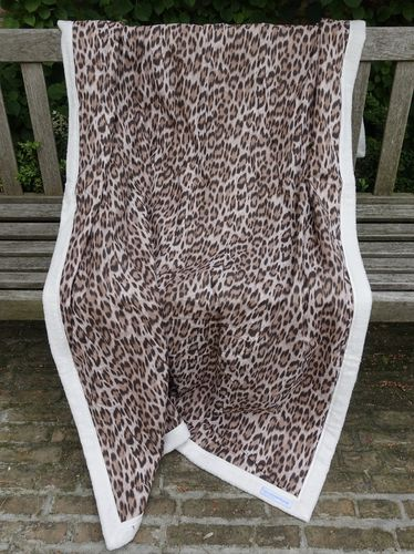 Exclusive Stranddecke Leoprint